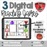 Long O:  OA, OW, OE  Digital Reading Activities - Distance