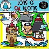 Long O: OA Words Clip Art Set - Chirp Graphics