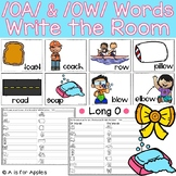 Long O: OA and OW Words Write the Room