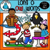 Long O: OW Words Clip Art Set - Chirp Graphics