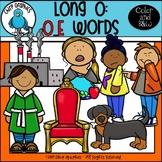 Long O: O_E Words Clip Art Set - Chirp Graphics