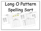 Long O Pattern Spelling Packet