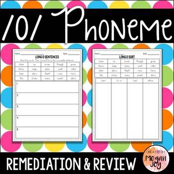 Long O Phoneme - Phonics Practice & Review