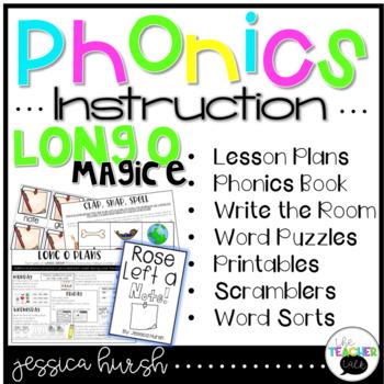 Long O Phonics Instruction - Magic E