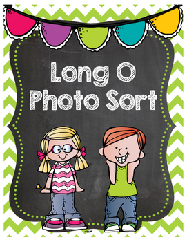 Long O Phonics Photo Sort