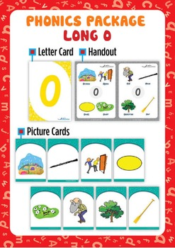 Long 'O' Phonics Resource Package