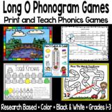 Long O Phonogram Phonics Game