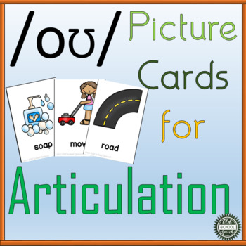 Long O Picture Cards for Articulation