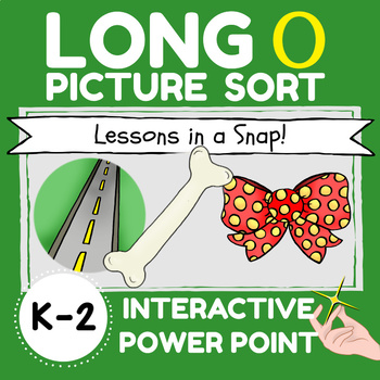Long O Picture Sort in a Snap