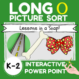LONG O PICTURE SORT