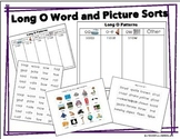 Long O: Picture and Word Sorts