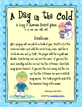 Long O Review Board Game: A Day in the Cold