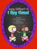 Long O/ Short O I Spy Game