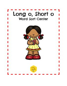 Long O, Short O Word Sort Center