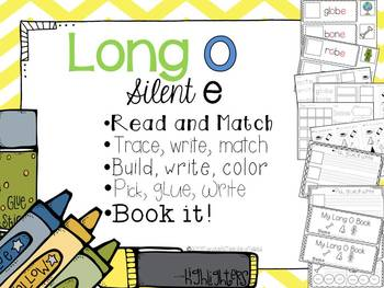 Long O Silent E- 5 interactive activities