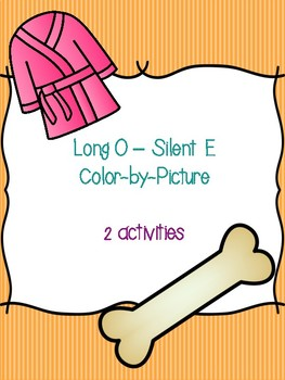 Long O - Silent E Color-by-Picture