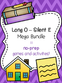 Long O - Silent E Mega Bundle! [11 no-prep games and activities]