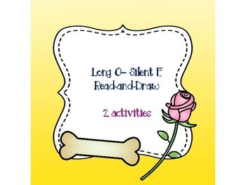 Long O - Silent E Read-and-Draw