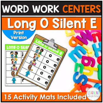 Long O Silent E Word Family Center