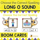 Long O Sound Boom Cards Choose the Correct Spelling | Dist