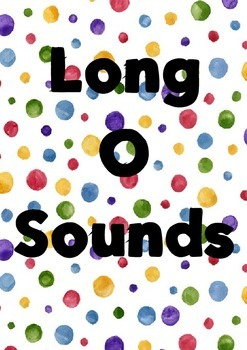 Long O Sounds