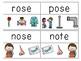 Long O & U CVCE Read & Clip Cards