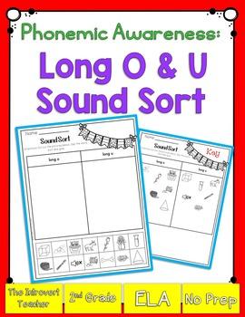 Long O & U Sound Sorting!