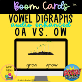 Long O Vowel Digraphs - OA and OW