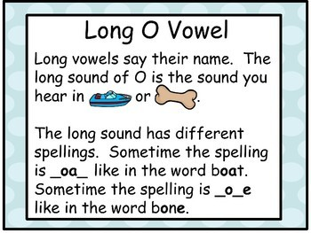 Long Vowel O - Make-A-Word Literacy Center