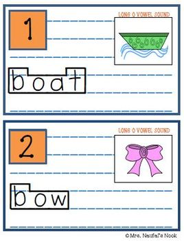 Read the Room Long Vowel O