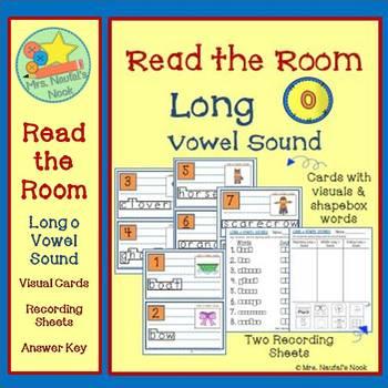 Alphabet Read the Room Long Vowel O