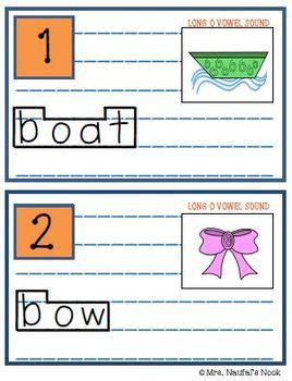 Read the Room Alphabet Long Vowel O