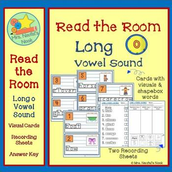 Long O Vowel Sound Read the Room