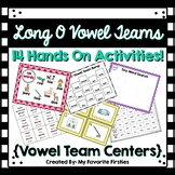 Long O Vowel Team Centers Word Work