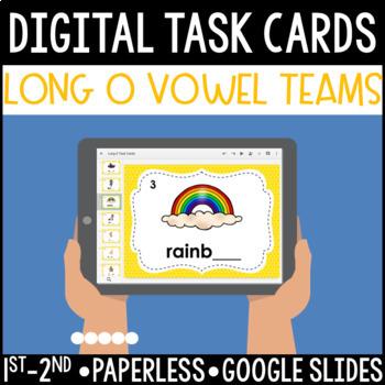 Long O Vowel Team Digital Task Cards