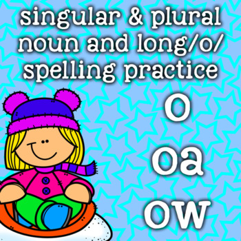 Long O Vowel Team Spelling - o, oa, ow - 2nd Grade - Winte