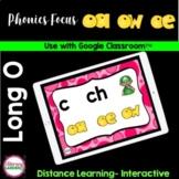 Long O Vowel Teams - Google Slides™