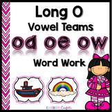Long O Vowel Teams Word Work Packet