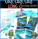 Long O Vowel Teams: oa and ow -Games, Reality vs. Fantasy, QR Code Hunt