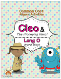 Long O Vowel Word Work: Cleo and The Hiccuping Hero! (Common Core Aligned)