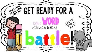 Long O Word Battle!