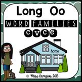 Long Vowels Long O Magic E CVCe Words