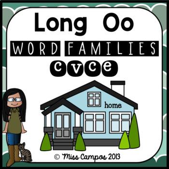 Long Vowels: Long O (Magic E) - CVCe Words