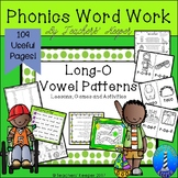 Long O Word Work Games & Activities