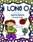 Long O Word Work Packet