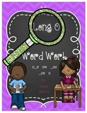 Long O Word Work {o_e, -ow, _oa, _oe, -o patterns}