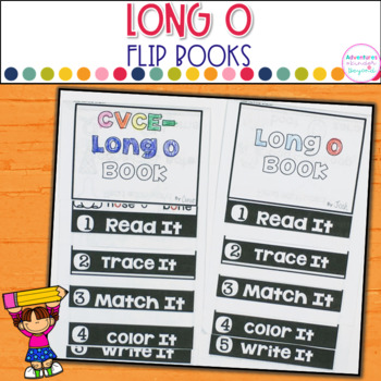 Long O Words- Flip Book