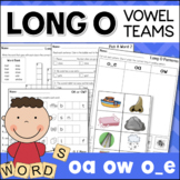 Long O Worksheets and Activities Vowel Teams OA, OW, O_E