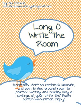 Long O Write the Room