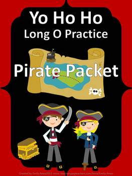 Long O - YO HO HO Long O PIRATE PACKET  (ow, oe, o, slient e)